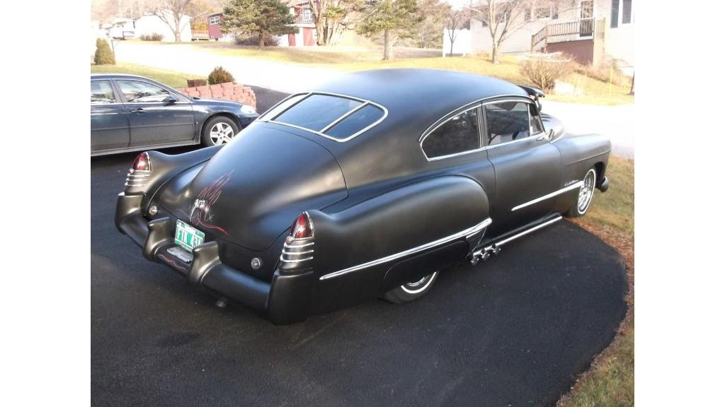1948 Cadillac Fastback - YouTube