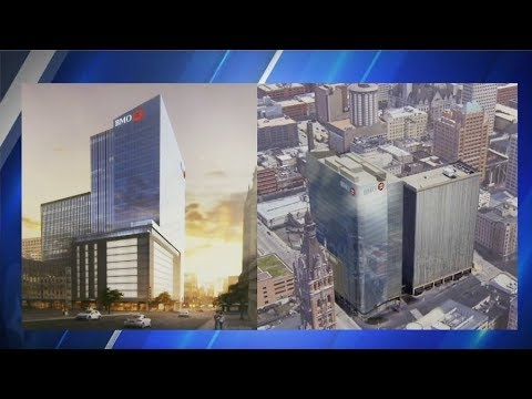 Groundbreaking held for downtown Milwaukee's new BMO Harris tower