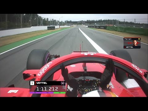 Sebastian Vettel's Pole Lap on Home Soil | 2018 German Grand