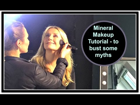 Mineral Make Up Myths And Tutorial - Nadine Baggott & SJ Froom
