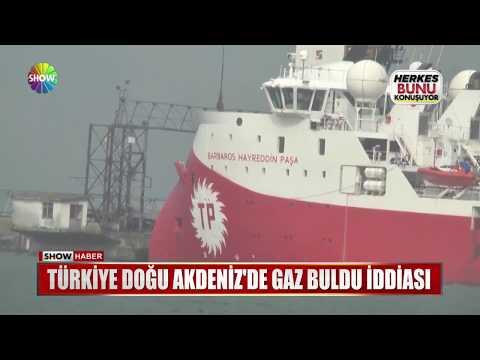Türkiye Doğu Akdeniz'de gaz buldu iddiası