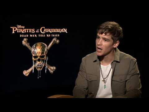 Pirates of the Caribbean: Dead Men Tell No Tales: BrentonThwaites CamA h264 hd