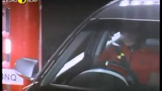 ハード破壊試験機:Euro NCAP Honda Accord 2003 Crash test