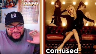 AOA(에이오에이) - Confused MV REACTION!!! | IS ANYONE ELSE HERE?!…