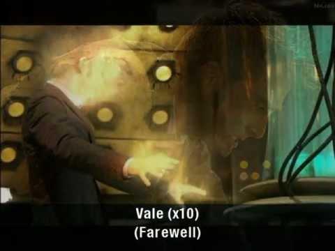 Doctor Who - Vale Decem (Latin lyrics w/ English translation)