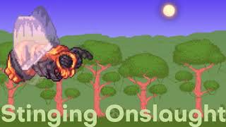 Ext: Calamity Mod - Stinging Onslaught - Theme of Queen Bee