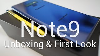 Samsung Galaxy Note 9 - Unboxing and First Look