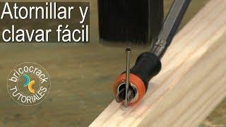Cómo atornillar con más rapidez y precisión (Bricocrack)