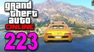 grand theft auto 5 multiplayer part 223 huge lake jump gta online let s play
