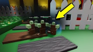 Bee Swarm Simulator BUT ZOMBIES are EVERYWHERE... (Roblox Secrets)