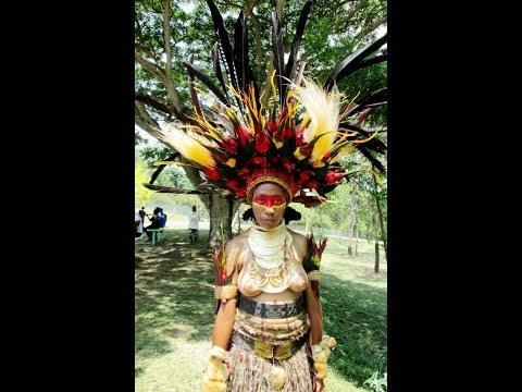 Papua New Guinea University of Technology (PNG UNITECH) Cultural Show Compilation 2013 Sept 16