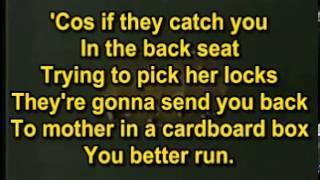 Pink Floyd   Run Like Hell Karaoke