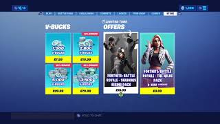 Fortnite Shadow Rising Pack Maintenant disponible