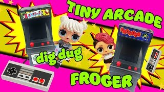 The LOL Surprise Dolls Curious QT and Rocker Unbox and Play with Two New Tiny Arcades!