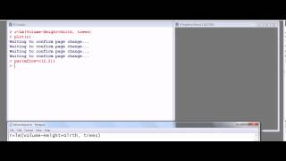 Statistics with R:  Example of outlier and leverage analysis part 1 of 3