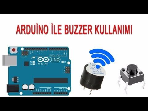 Arduino ile buzzer kullanımı ve örnek arduino kodları