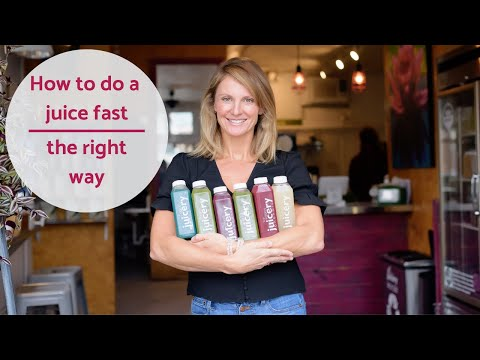 How to do a juice cleanse!