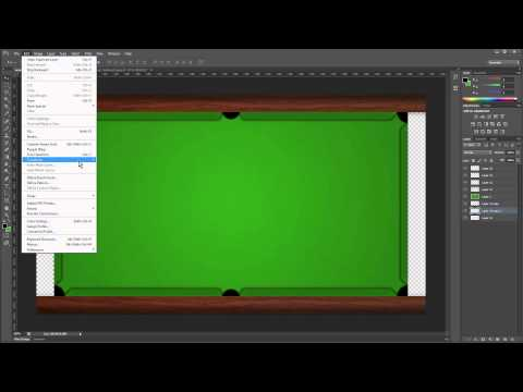 [Pool Game] Table Design - Video 1