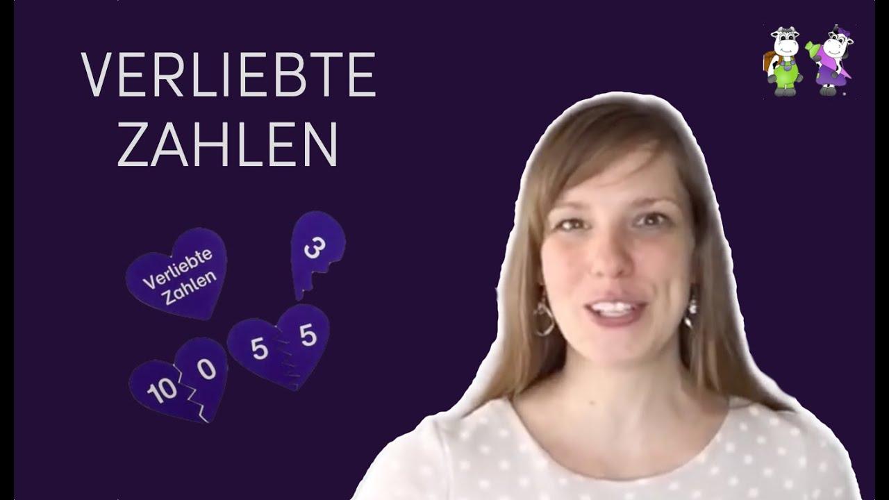 1. Klasse - Rechnen - Verliebte Zahlen - YouTube