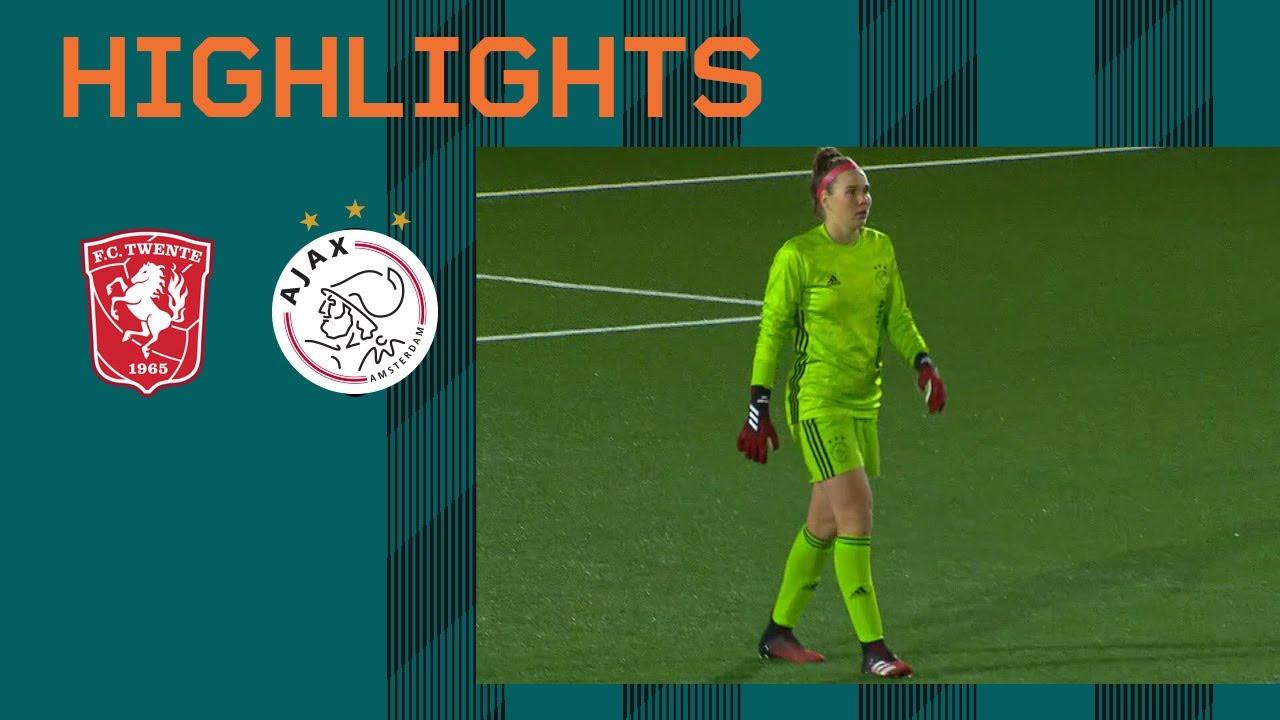 Highlights FC Twente - Ajax Vrouwen   Eredivisie Vrouwen