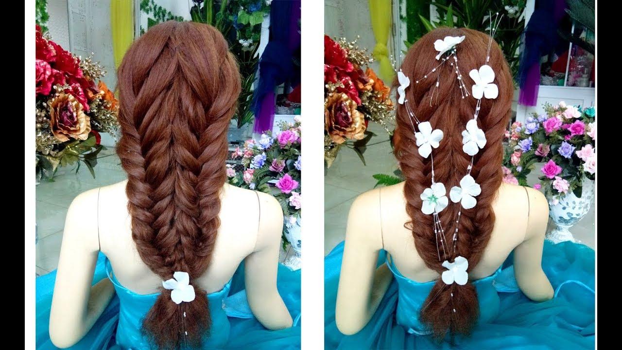 Hướng dẫn kết tóc cô dâu ngày cưới