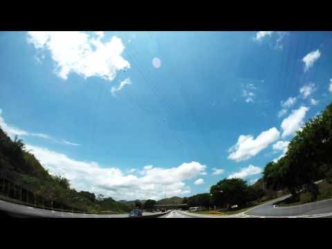 Timelapse de Volta Redonda ao Rio de Janeiro