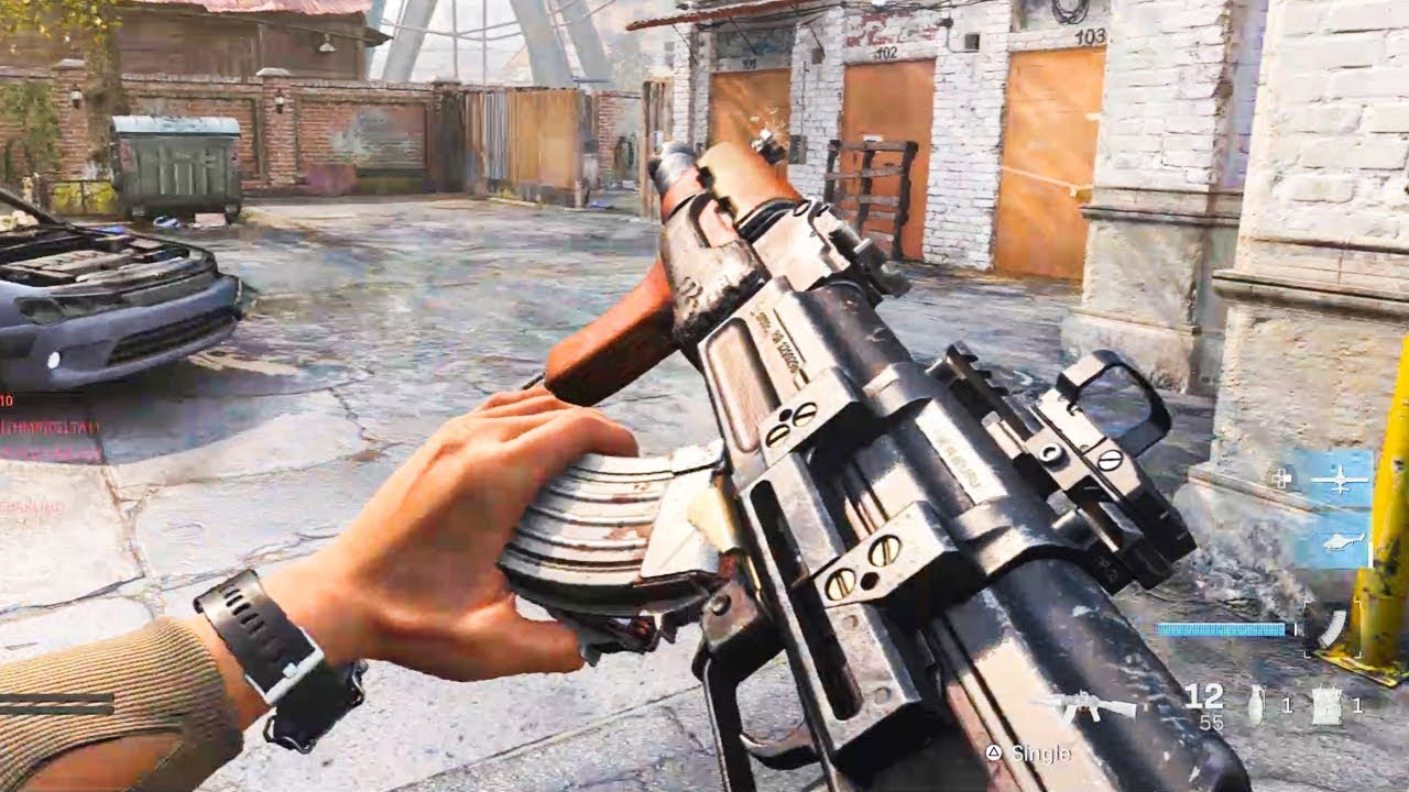 NEW AK-47 GAMEPLAY - Call of Duty Modern Warfare Multiplayer Gameplay