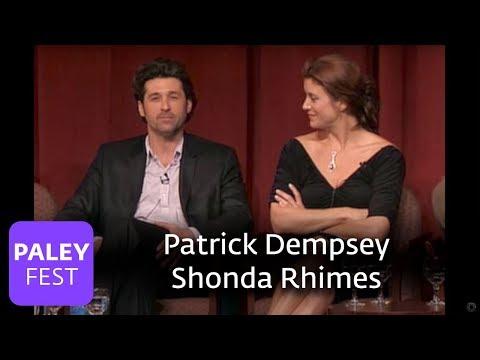 Greys Anatomy - Patrick Dempsey Meeting Shonda Rhimes