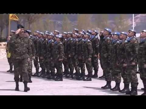 """S.M. el Rey visitó al contingente español en el Líbano  - Base """"Miguel de Cervantes"""""""