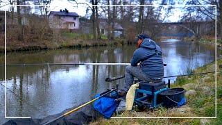Pierwszy raz łowię TYCZKĄ NA RZECE | #Vlog 161