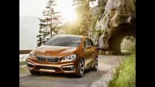 BMW Active Tourer Outdoor Concept 2013 Videos