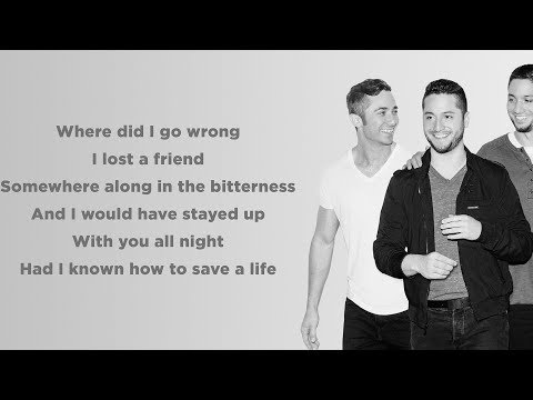 How To Save A Life - The Fray (Lyrics)(Boyce Avenue piano acoustic cover)