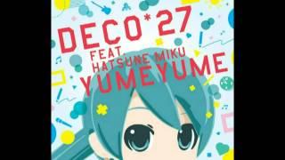 decox27 feat初音ミク ゆめゆめ full hd 1080p