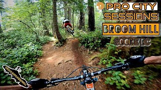 Mountain Biking on Vancouver Island - Sessioning Broom Hill - Sooke BC