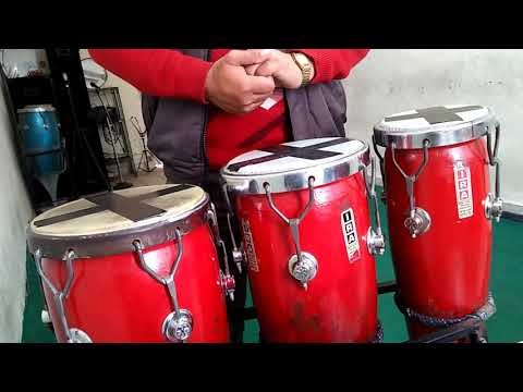 Learn Congo drum disco beat 8 beat for beginners part 1