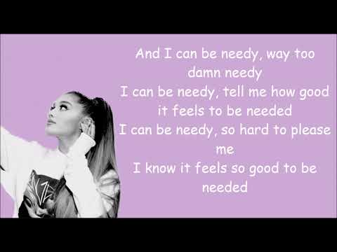 needy ariana grande chords