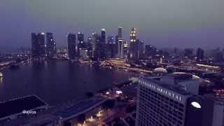 SINGAPORE NIGHT SHOT IN 4K