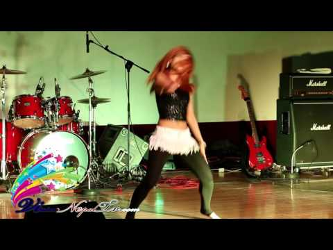 Roshna KC perfoming in live concert 2073 at seoul South korea