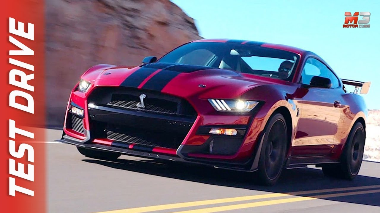 New ford mustang shelby gt500 first test drive
