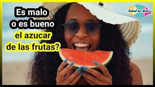 Deberías preocuparte por el azúcar de la fruta?