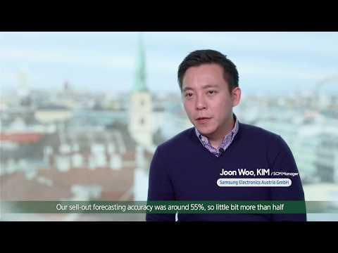 Cello Demand Sensing - Samsung Electronics Austria Testimonial