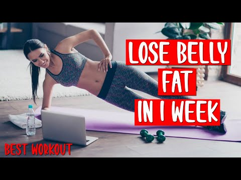 Burn Belly Fat In 1 Week | How To Lose Fat Fast