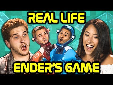 REAL LIFE ENDER'S GAME?! | Echo Arena VR (React)