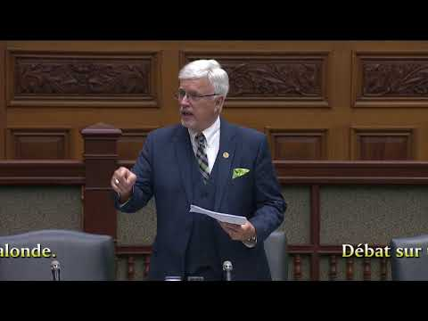 MPP Rick Nicholls addresses the government's Bill 6: Correctional Services Transformation Act, 2018