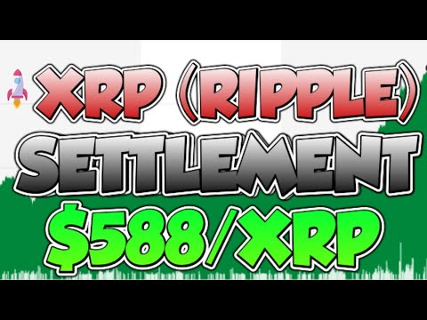 🚀🚨 RIPPLE (XRP) BREAKING LAWSUIT NEWS! (SETTLEMENT COMING) *$588/XRP*