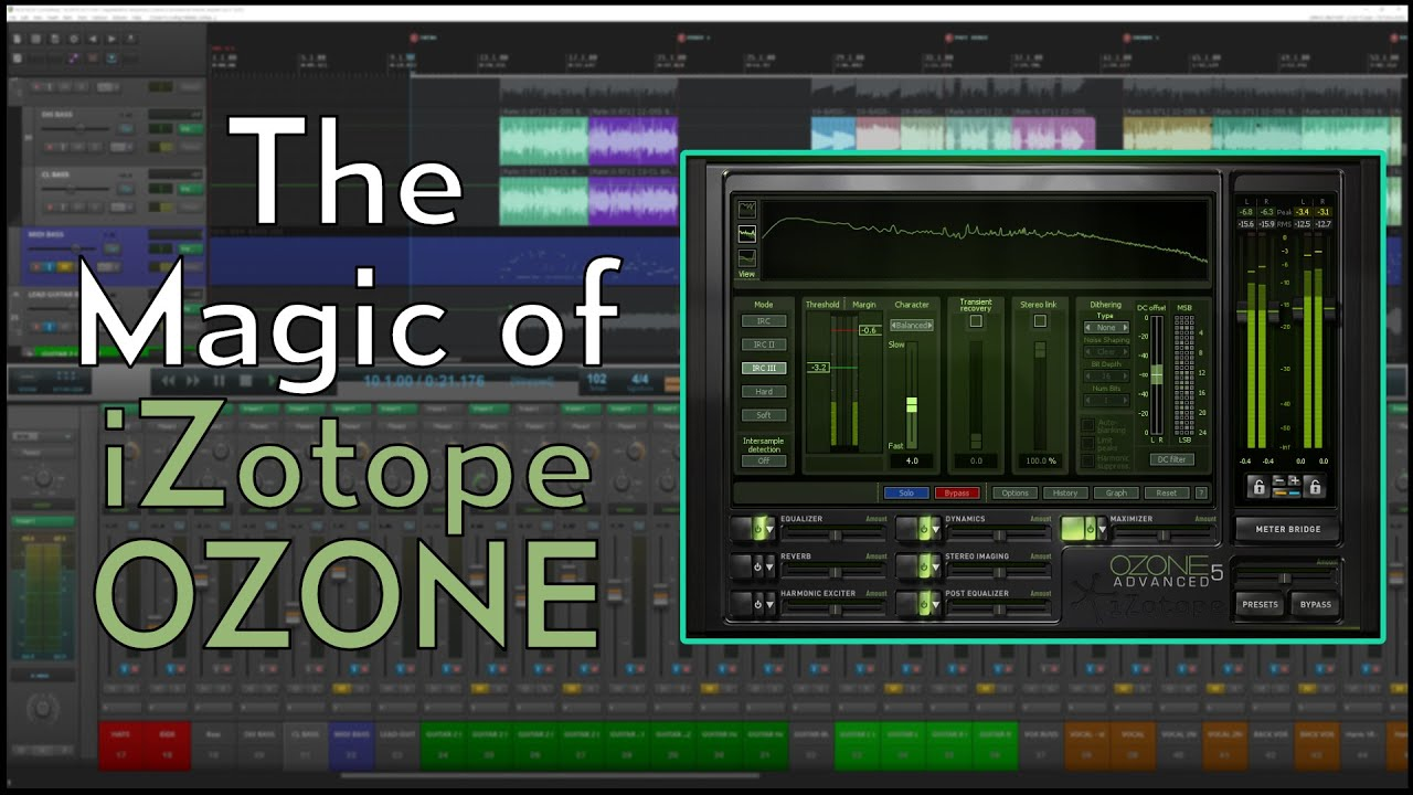 The Magic of iZotope OZONE