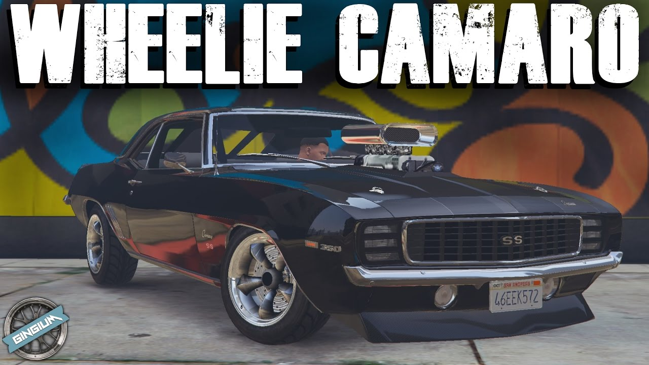 1969 chevy camaro ss wheelies manual transmission gta 5 mods rh youtube com 1971 Camaro 1971 Camaro