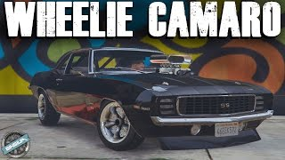 1969 Chevy Camaro SS - Wheelies & Manual Transmission || GTA 5 MODS