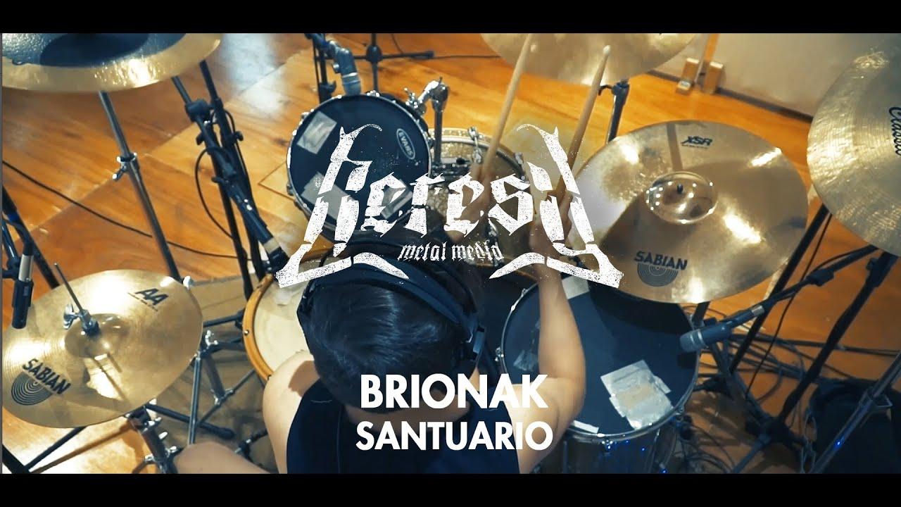 Brionak - Santuario - Drum Playthrougth - Heresy Metal Media