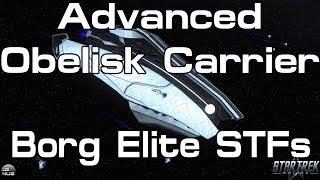 Sto - Advanced Obelisk Carrier - Borg Elite Stfs